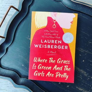 Early copy alert! Who wants one? Giving away a galley for my upcoming book WHERE THE GRASS IS GREEN AND THE GIRLS ARE PRETTY! To enter, tag a friend and tell me what book you're currently reading. . . . . #wherethegrassisgreenandthegirlsarepretty #laurenweisberger #thedevilwearsprada #upcomingbookrelease #bookgiveaway #arcgiveaway #bookstagram #authorsofinstagram