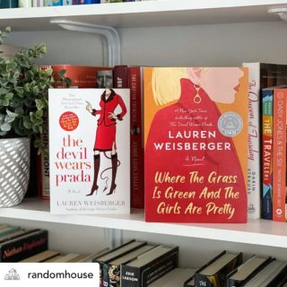 Amazing giveaway from my publisher! Head to @randomhouse to enter to win an ARC of WHERE THE GRASS IS GREEN AND THE GIRLS ARE PRETTY and a copy of THE DEVIL WEARS PRADA! . . . #laurenweisberger #randomhouse #thedevilwearsprada #wherethegrassisgreenandthegirlsarepretty